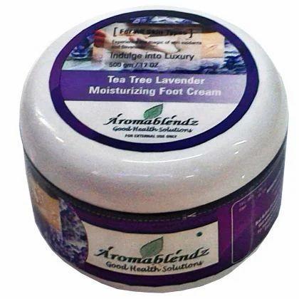 Aromablendz Tea Tree & Lavender Moisturizing Foot Cream