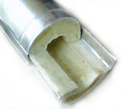 Pre-Cladded PUF Pipe Section