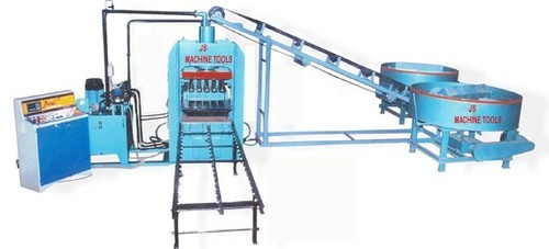 Fully Automatic Fly Ash Brick Making Machine, Capacity: 2000-2500 Piece per hour, Model: JSMT_102