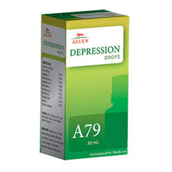 Allen Homeopathy A79 Depression Drops