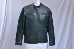 Plain Leather Jacket