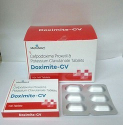 Cefpodoxime Proxetil 200 mg Clavulanate 125 mg