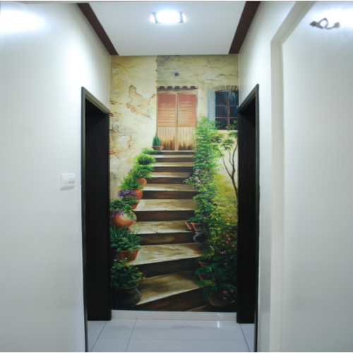 3d wall painting home design