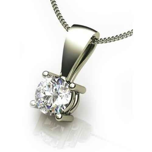 classic necklace ip charles cut pendant dew colvard forever moissanite heart
