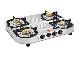 c62f5cc2a Four Burner Double Decker Gas Stove at Rs 2200  piece(s)