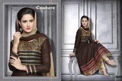 Cotton Readymade Party Wear Stylish Anarkali Suit
