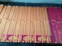 Body Designed Handloom Sarees, With Blouse Piece
