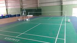 PVC Badminton Court