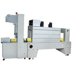 Fully Automatic Bottle Shrink Wrapping Machine
