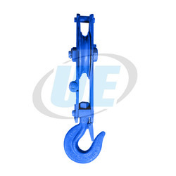 Single Sheave Manila Rope Pulley Block