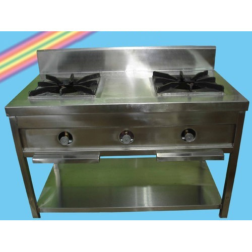 Two Burners Gas Cooking Range