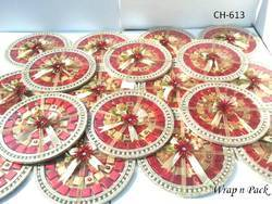 Round Platter For Chocolate , Dry Fruit, Sweets