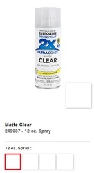 Rust-Oleum Painter's Touch Ultra Cover 2x Clear Spray paints