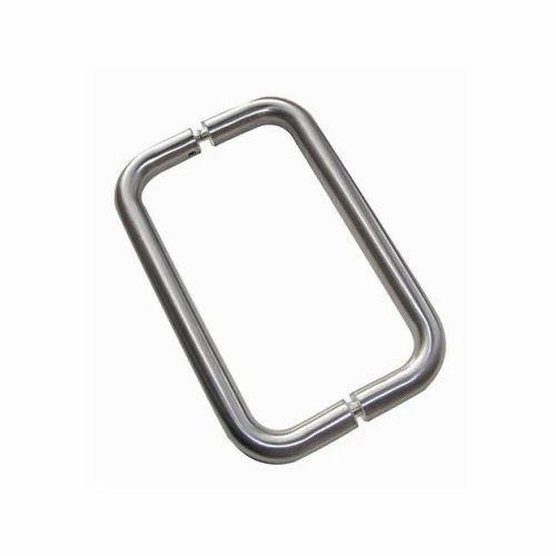 D Shaped Glass Door Handle
