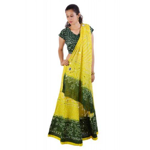 b0e83c4aec5cc Cotton Semi-Stitched Rajasthani Lehenga Choli