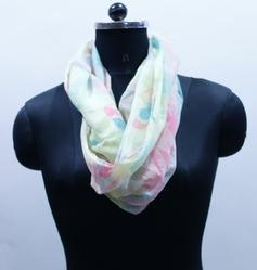 EGSC0005 Abstract Print Cotton Scarf
