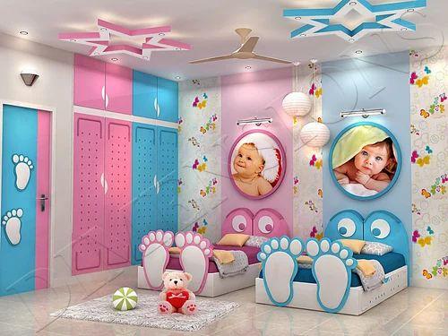 Children Bedroom Interior Designing in Kustia, Kolkata ...