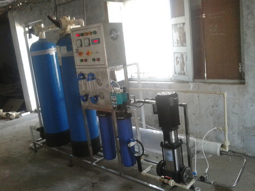 FRP Mineral Water Plant