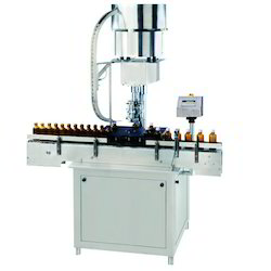 Semi Automatic Screw Capping Machine