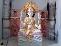 Marble Padmawati Moorti
