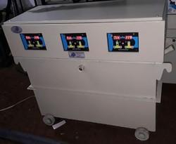 Oil Cooled Servo Voltage Stabilizer 100 Kva