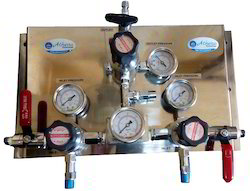 Mechanical Automatic Gas Change Over Manifold