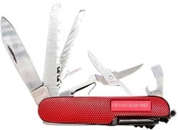 Branded Original 11 in 1 Grand Harvest Swiss Knife Functions