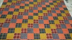 Cotton Block Patch Print Quilt