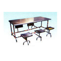 6 Seater Folding Dining Table