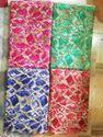 Green And Tb Geometric Reyon Fabric, Use: Dress And Kurtis