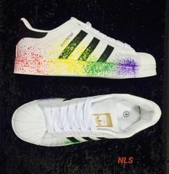 Adidas Superstar Multicolour Sneakers Shoes 5dfe67791