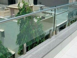 SS Modular Glass Railings
