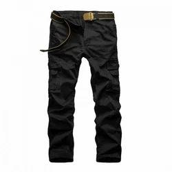 Cotton/linen Standard Men's Casual Pant