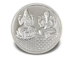 Lakshmi Silver Coin Lakshmi Chandi Ka Sikka Suppliers