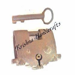 Antique Steel Padlock