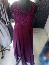 Ladies One Piece Gown