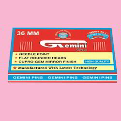 Gemini Paper Pin 36mm