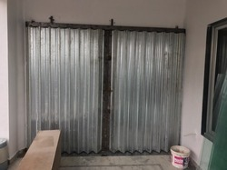 Stainless Steel Silver Shutter Gate