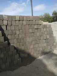 Rectangle 6 inch solid concrete blocks