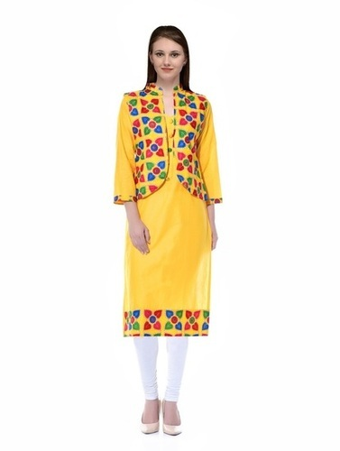 Cotton Jacket Kurti At Rs 699 Piece S Cotton Jacket Kurti Id