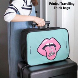 Polyester Printed Traveling Bags