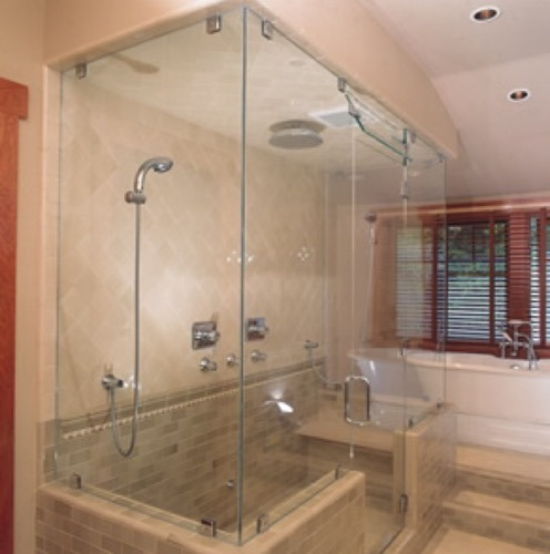 Glass Bath Cubicle At Rs 300 Square Feet ग्लास शावर