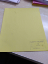 Green Ledger Paper & Azure Laid Paper, For Register