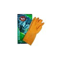 Volk Plus Household Rubber Hand Gloves