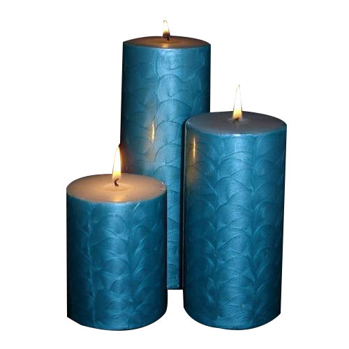 Rectangle U0026 Pyramid Enamel Coating Pillar Candle