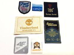 Laser Cut Woven Labels