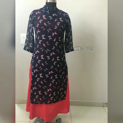 Long Kurti And Ladies Green Kurti Wholesaler Karta World Jaipur