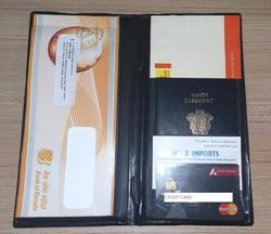 Passport And Cheque Book Holder