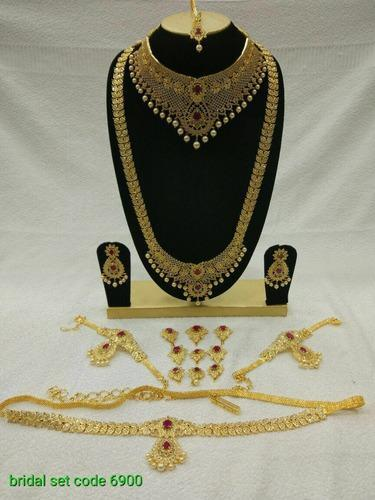 0bd87a1c0f44e Jewellery - Cz Bridal Jewelry Set Wholesaler from Hyderabad