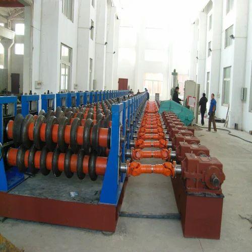 Silo Corrugated Steel Sheet Forming Machine